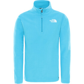The North Face Glacier Sweat-shirt avec Fermeture éclair 1/4 Enfant, acoustic blue